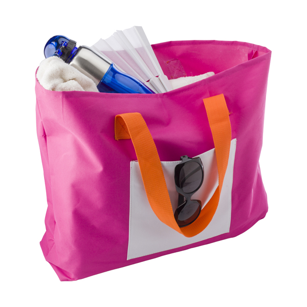 Polyester 600D beach bag. in