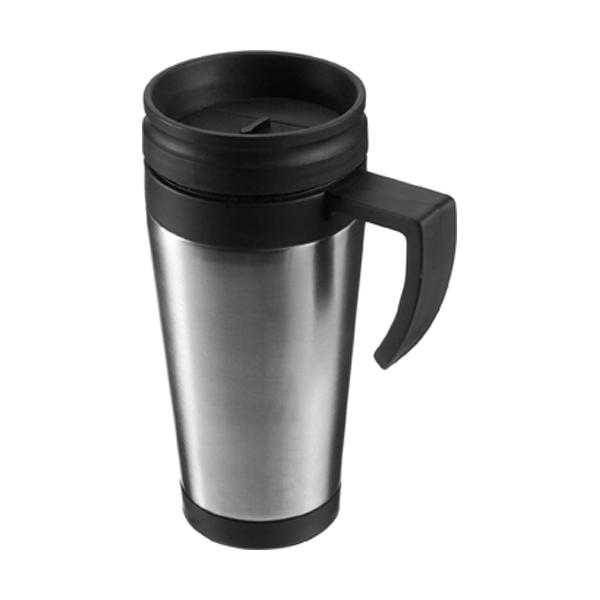 420ml Stainless steel mug in black