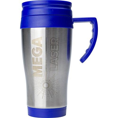 420ml Stainless steel mug in blue
