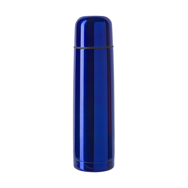 Vacuum flask, 0.5 litre in cobalt-blue