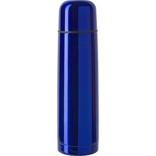 Vacuum flask, 0.5 litre in cobalt-blue