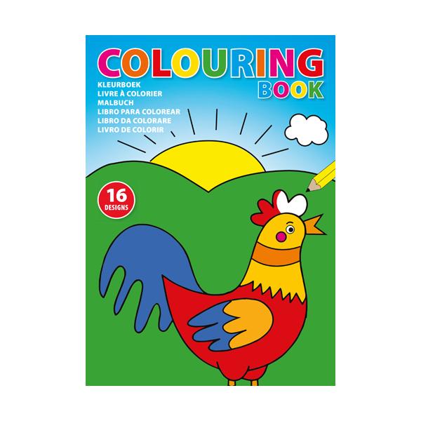 A4 Children's colouring book.
