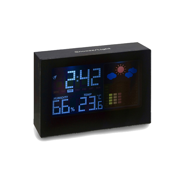 Digital weather station in