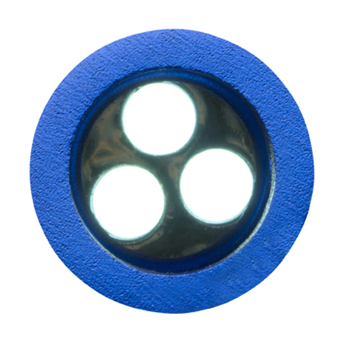 Metal opener and LED light in cobalt-blue