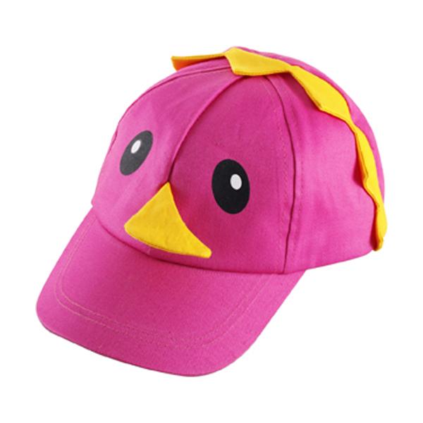 Cotton cap for children in pink