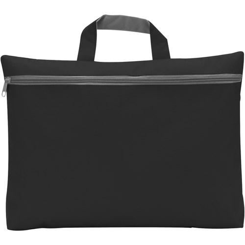 Seminar bag in black