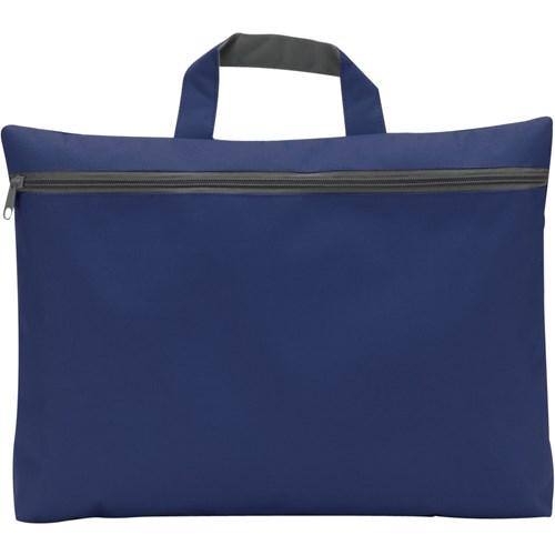 Seminar bag in blue