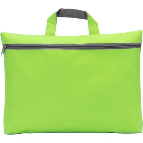 Seminar bag in lime