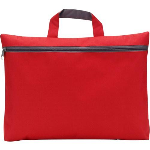 Seminar bag in red
