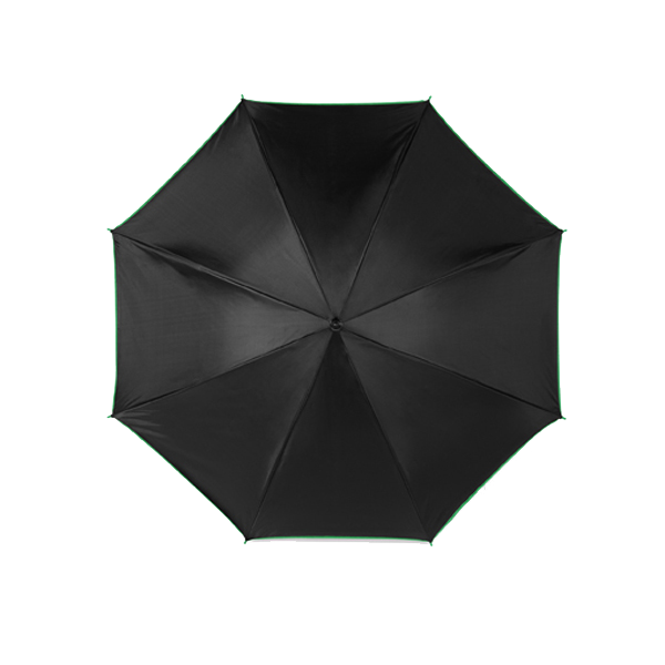 Umbrella with automatic opening. in yellow
