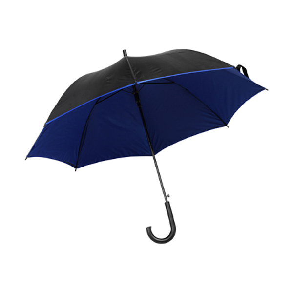 Umbrella with automatic opening. in blue