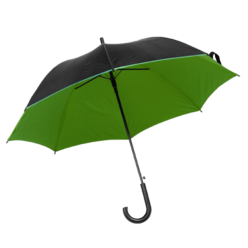 Umbrella with automatic opening. in green