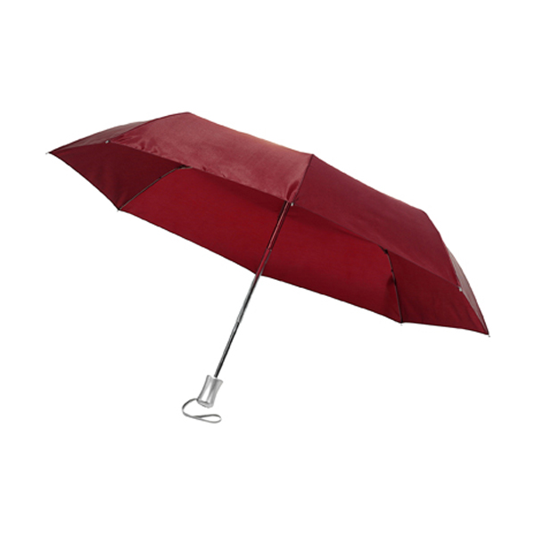 Auto umbrella in bordeaux
