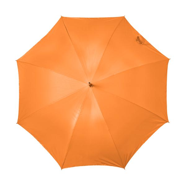 Automatic storm proof umbrella. in orange