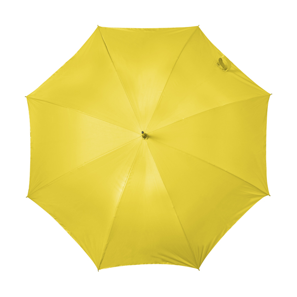 Automatic storm proof umbrella. in yellow