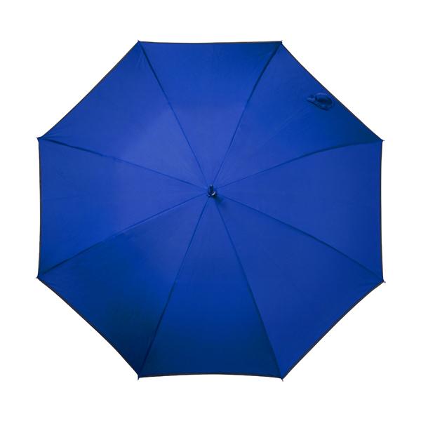 Automatic storm proof umbrella. in blue