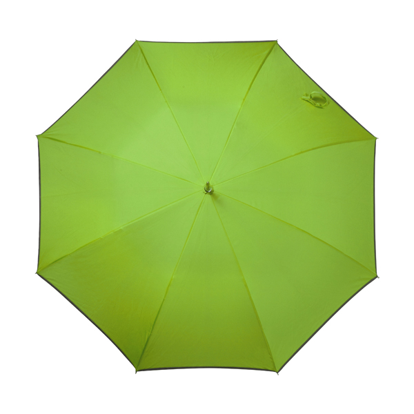 Automatic storm proof umbrella. in lime
