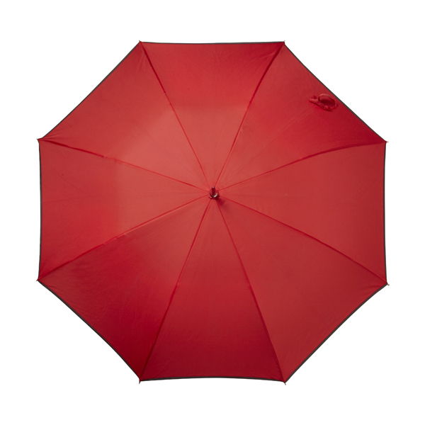 Automatic storm proof umbrella. in red