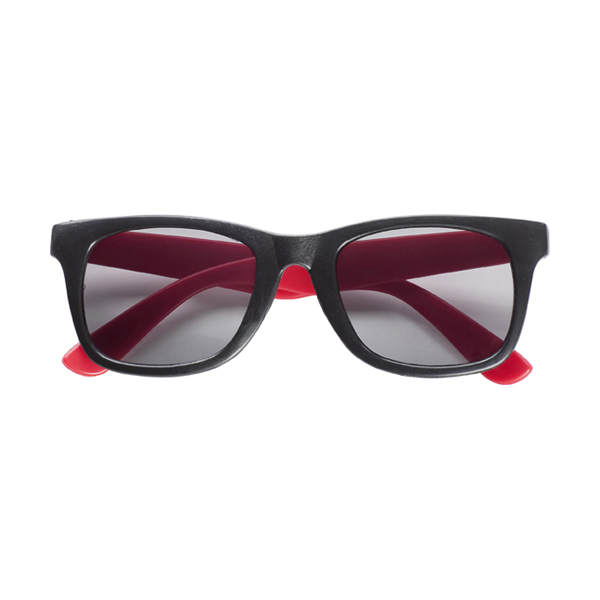 Sunglasses. in red