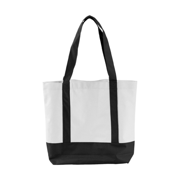 Shopping bag in black