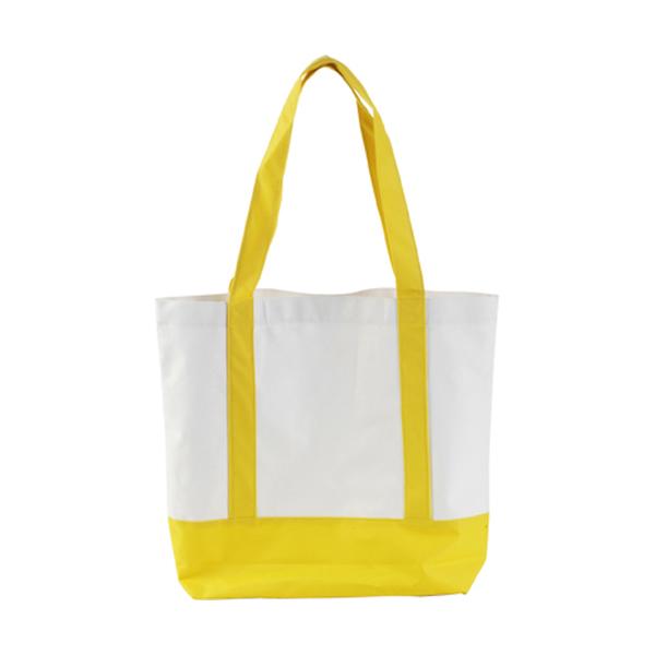 Shopping bag in yellow