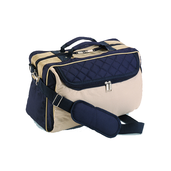 Travel bag in blue