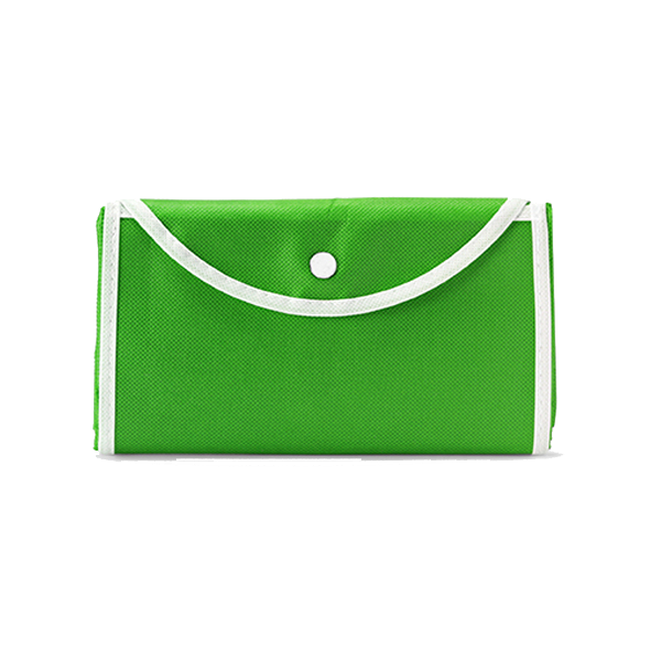 Foldable shopping bag in green