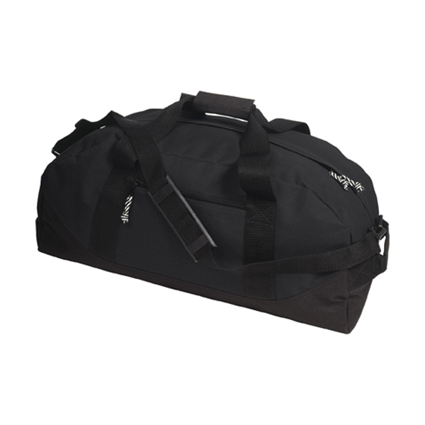 Sports/travel bag in black
