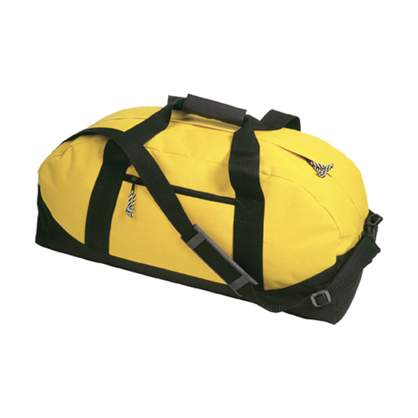 Sports/travel bag in yellow