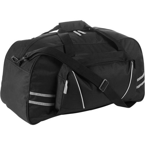 Sports/travel bag in black