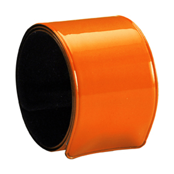 Snap arm band. in orange