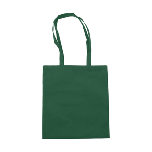Exhibition bag, non woven  in green