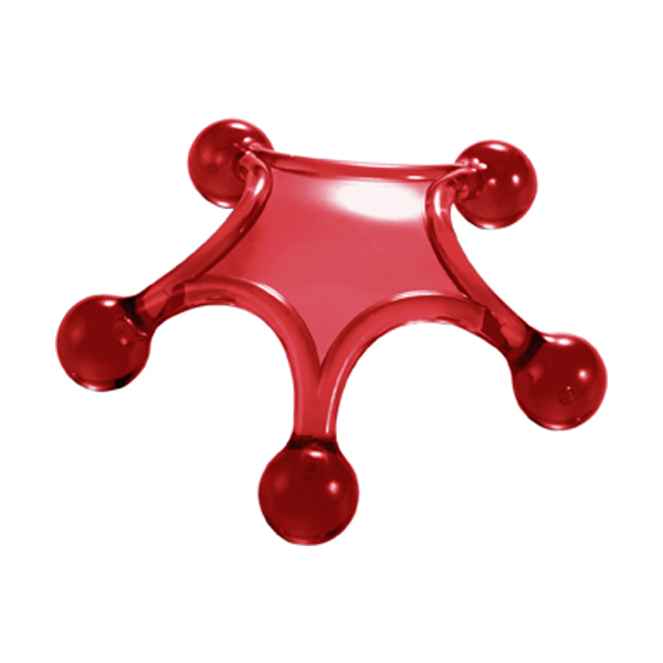 Body massager in red