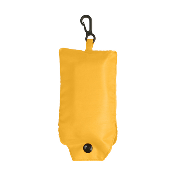Foldable shopping bag in yellow