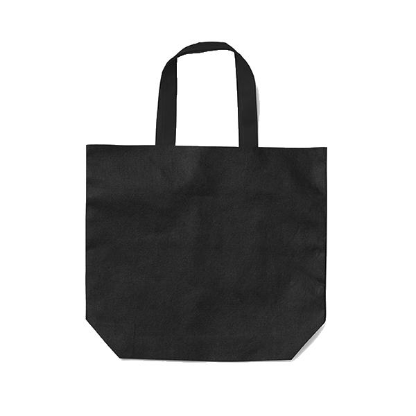 Shopping bag, non-woven  in white