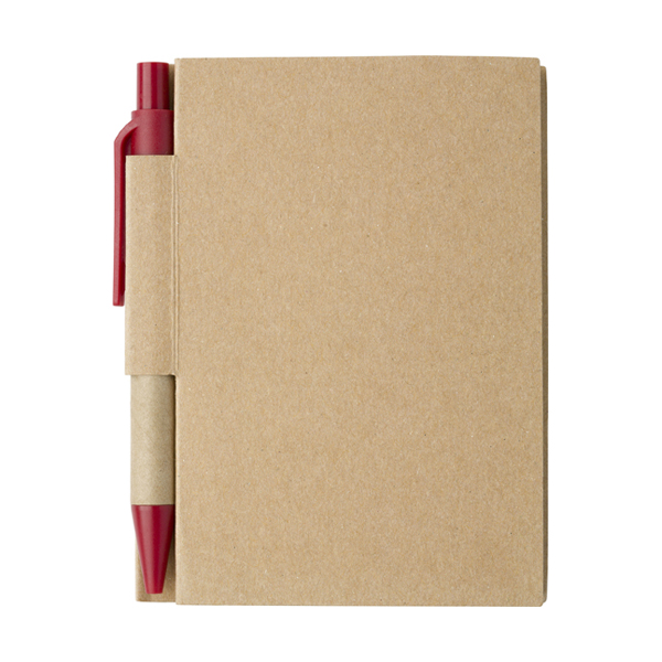 Small notebook in red