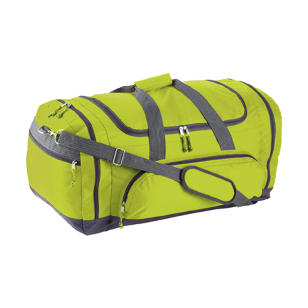 Sports/travel bag in lime