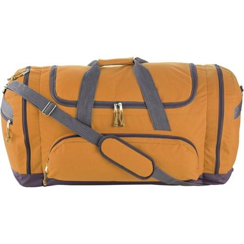 Sports/travel bag in orange