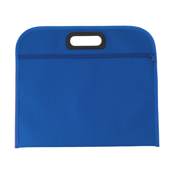 Conference bag. in blue