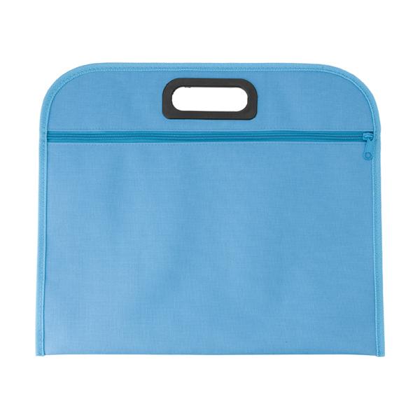 Conference bag. in light-blue
