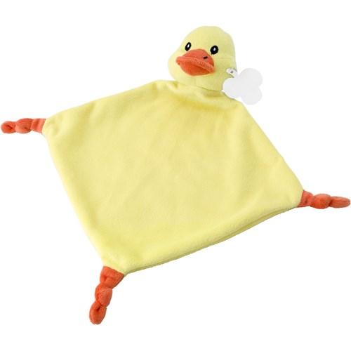 Plush cloth. in yellow