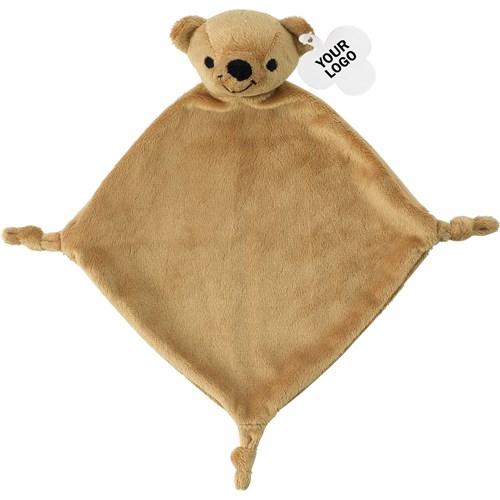 Plush cloth. in brown