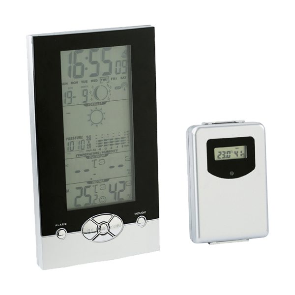 Weather station. in silver
