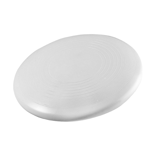 Competition frisbee. in white