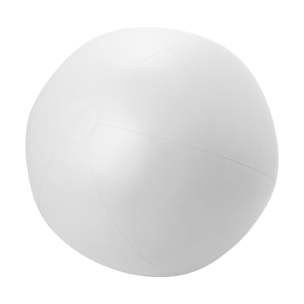 Large PVC  beach ball. in white
