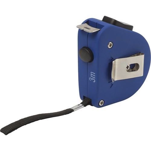 Tape measure, 3m in cobalt-blue