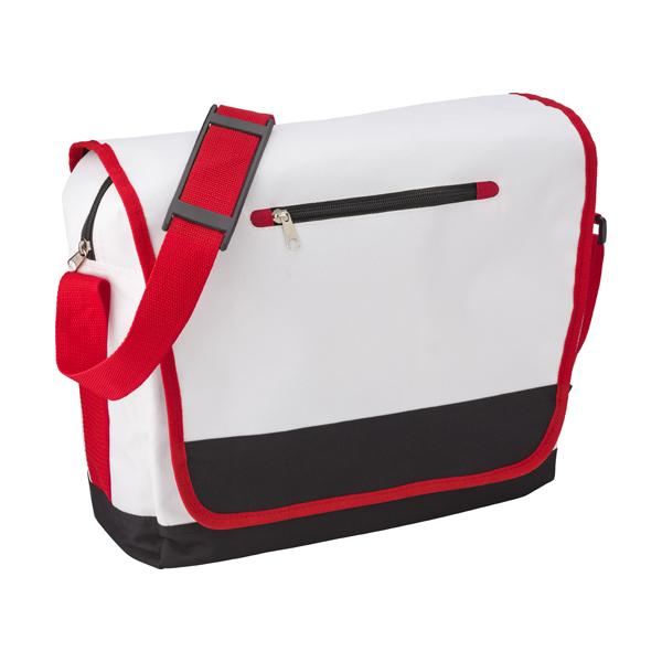 Polyester 600D messenger bag.
