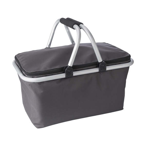 Quality groceries basket in a 320D polyester material.