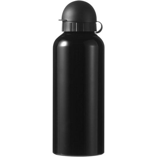 Metal drinking bottle in black