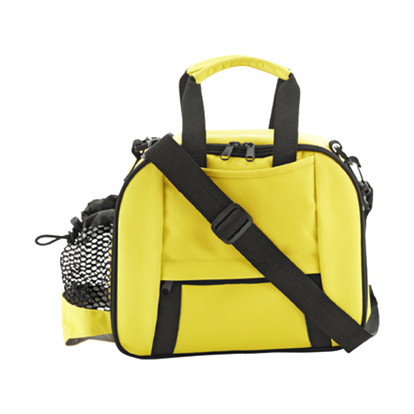 Cooler bag in yellow